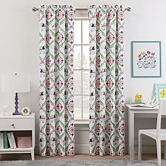 Kids Waverly Blackout 1-Panel Bollywood Window Curtain