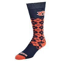 Men's Mojo Auburn Tigers Argyle Socks