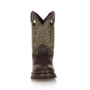 Lil Durango Boys' 8-in. Saddle Western Boots