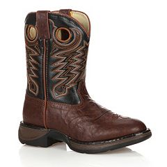 Lil Durango Boys' 8 in Saddle Western Boots