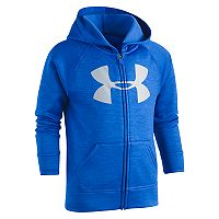 Boys 4-7 Under Armour Logo Zip Hoodie