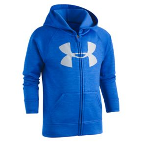 Boys 4-7 Under Armour Logo Zip Hoodie