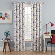 Kids Waverly Blackout 1-Panel Winde Me Up Window Curtain