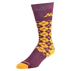 Men's Mojo Minnesota Golden Gophers Argyle Socks