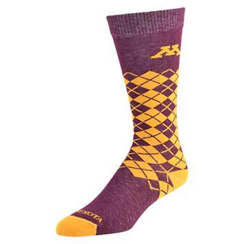 Men's Mojo Minnesota Golden Gophers Argyle Socks
