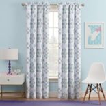 Kids Waverly Blackout 1-Panel Ipanema Window Curtain