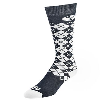 Men's Mojo BYU Cougars Argyle Socks