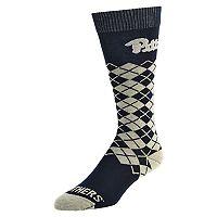 Men's Mojo Pitt Panthers Argyle Socks