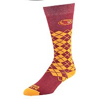 Men's Mojo Iowa State Cyclones Argyle Socks