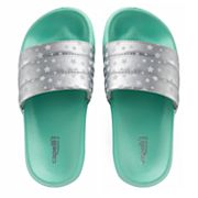 Girls 4-16 Elli by Capelli 'Star' Print Slides