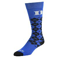 Men's Mojo Duke Blue Devils Argyle Socks