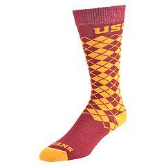 Women's Mojo USC Trojans Argyle Socks