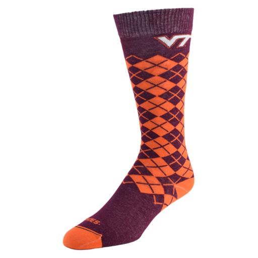 Women's Mojo Virginia Tech Hokies Argyle Socks