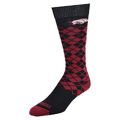 Women's Mojo Arkansas Razorbacks Argyle Socks