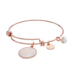 love this life 'Mother & Daughter' Turtle Charm Bangle Bracelet