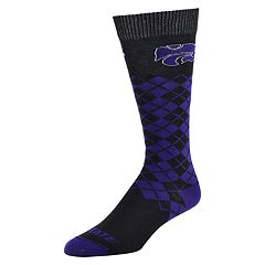 Women's Mojo Kansas State Wildcats Argyle Socks