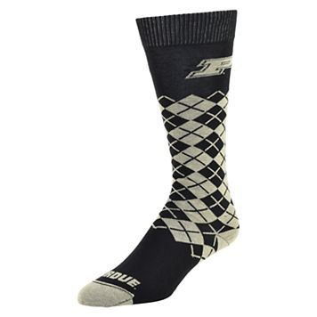 Women's Mojo Purdue Boilermakers Argyle Socks