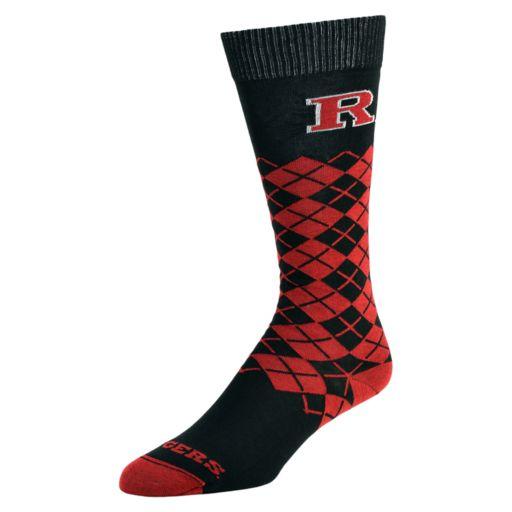Women's Mojo Rutgers Scarlet Knights Argyle Socks