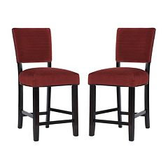 Powell Raya Counter Stool 2-piece Set