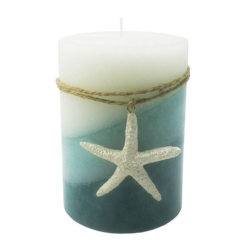 """SONOMA Goods for Life™ Seaside Breeze 3"""" x 4"""" Pillar Candle"""