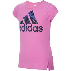 Girls 7-16 adidas Vented Hem Graphic Tee