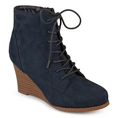 19af00a726c3 Womens Journee Collection Wedges Boots - Shoes
