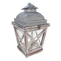 SONOMA Goods for Life™ Large Rustic Shabby Chic Lantern Table Decor