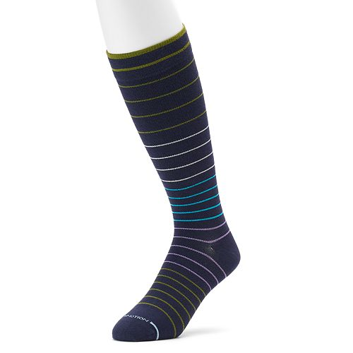 Men's Dr. Motion Print Compression Knee-High Socks