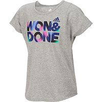 Girls 7-16 adidas Slogan Graphic Tee