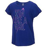 Girls 7-16 adidas Slogan Graphic Tee