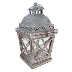 SONOMA Goods for Life™ Small Rustic Shabby Chic Lantern Table Decor