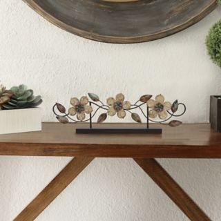 Stratton Home Decor Rustic Flower Table Decor