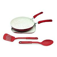 IMUSA 4 pc Ceramic Nonstick Griddle & Pan Set