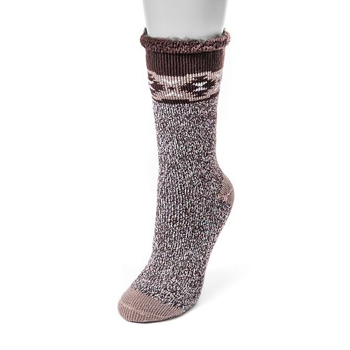 Women's MUK LUKS Heat Retainer Thermal Socks