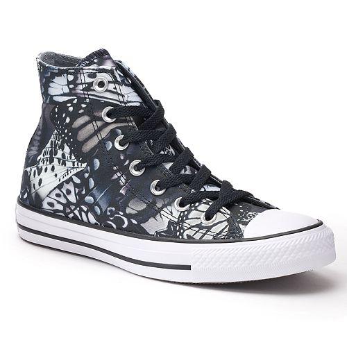 8e003fb601b9 Women s Converse Chuck Taylor All Star Butterfly High Top Sneakers