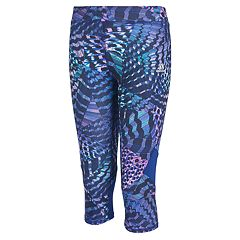Girls 7-16 adidas Alpha Printed Capri Leggings