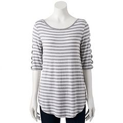 Women's French Laundry Crisscross Tee