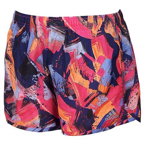 Girls 7-16 adidas Breakaway Printed Shorts