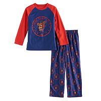 Boys 6-14 Five Nights At Freddy's 2-Piece Pajama Set