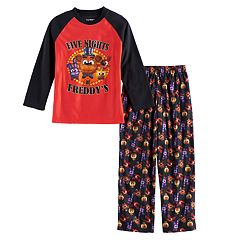 Boys 6-14 Five Nights At Freddy's 2 pc Pajama Set
