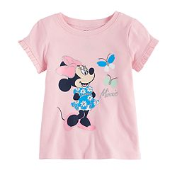 Disney's Minnie Mouse Baby Girl Ruffle Hem Tee by Jumping Beans®