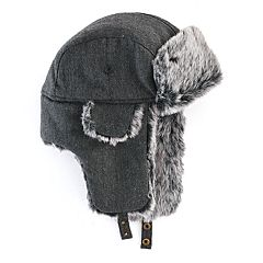 Men's Urban Pipeline® Herringbone Trapper Hat