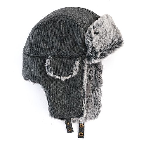 ebd00c97cb6 Men s Urban Pipeline™ Herringbone Trapper Hat