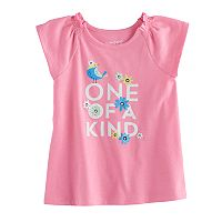 Jumping Beans® Baby Girls Graphic Raglan Tunic