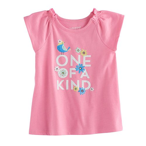 Jumping Beans® Baby Girls Graphic Raglan Tunic