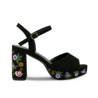 Olivia Miller Astoria Women's Platform High Heel Sandals