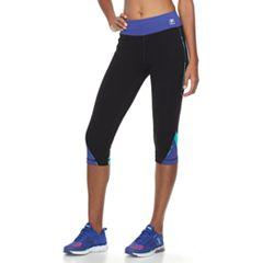 Women's FILA SPORT® Printed Inset Capri Leggings