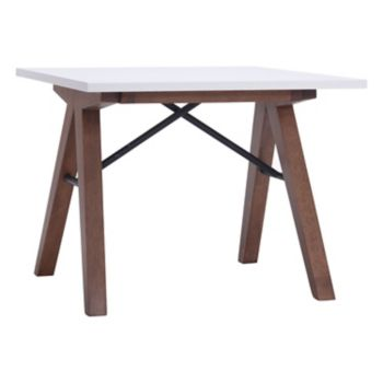 Zuo Modern Mid-Century Sawhorse End Table