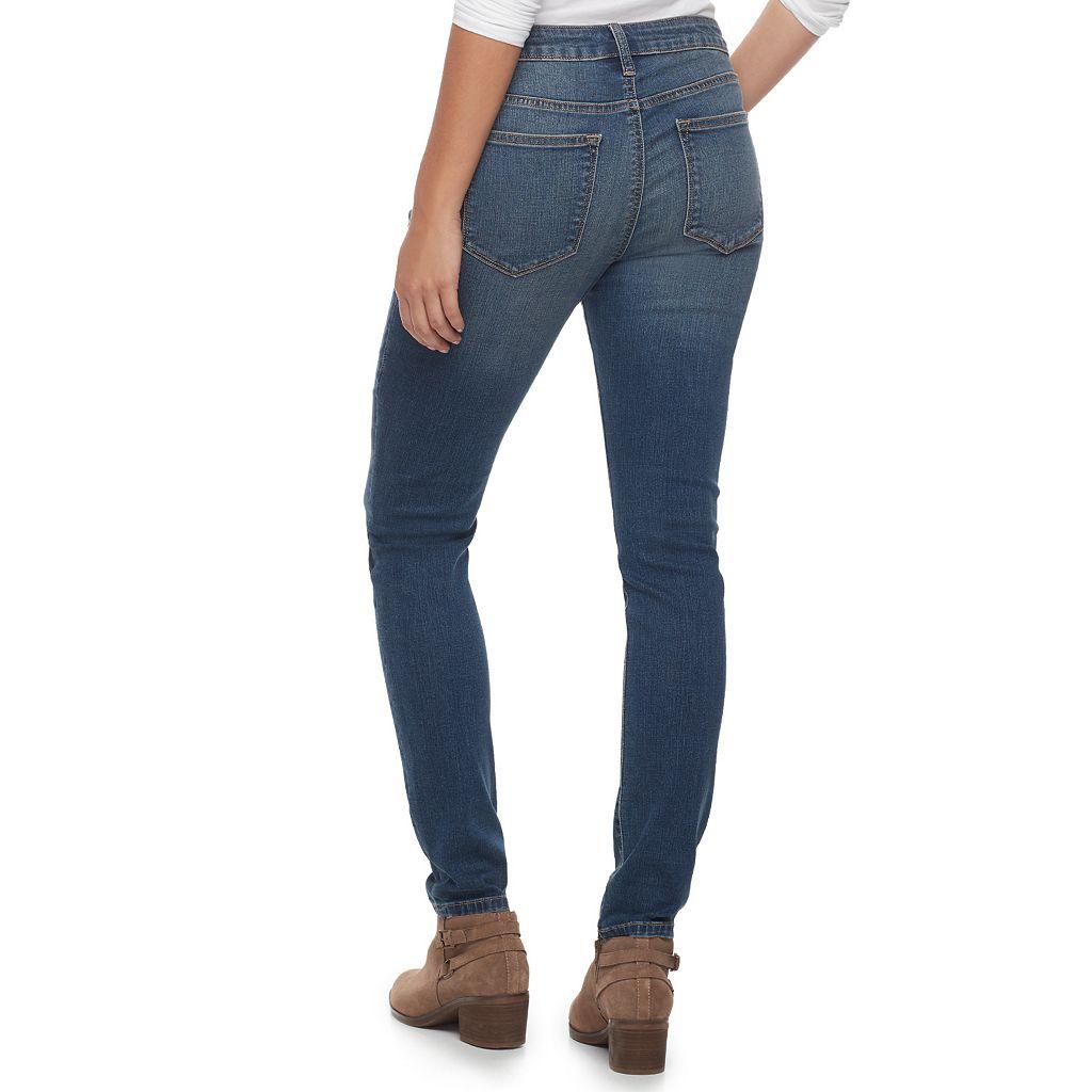 Women's SONOMA Goods for Life™ Destructed Skinny Jeans