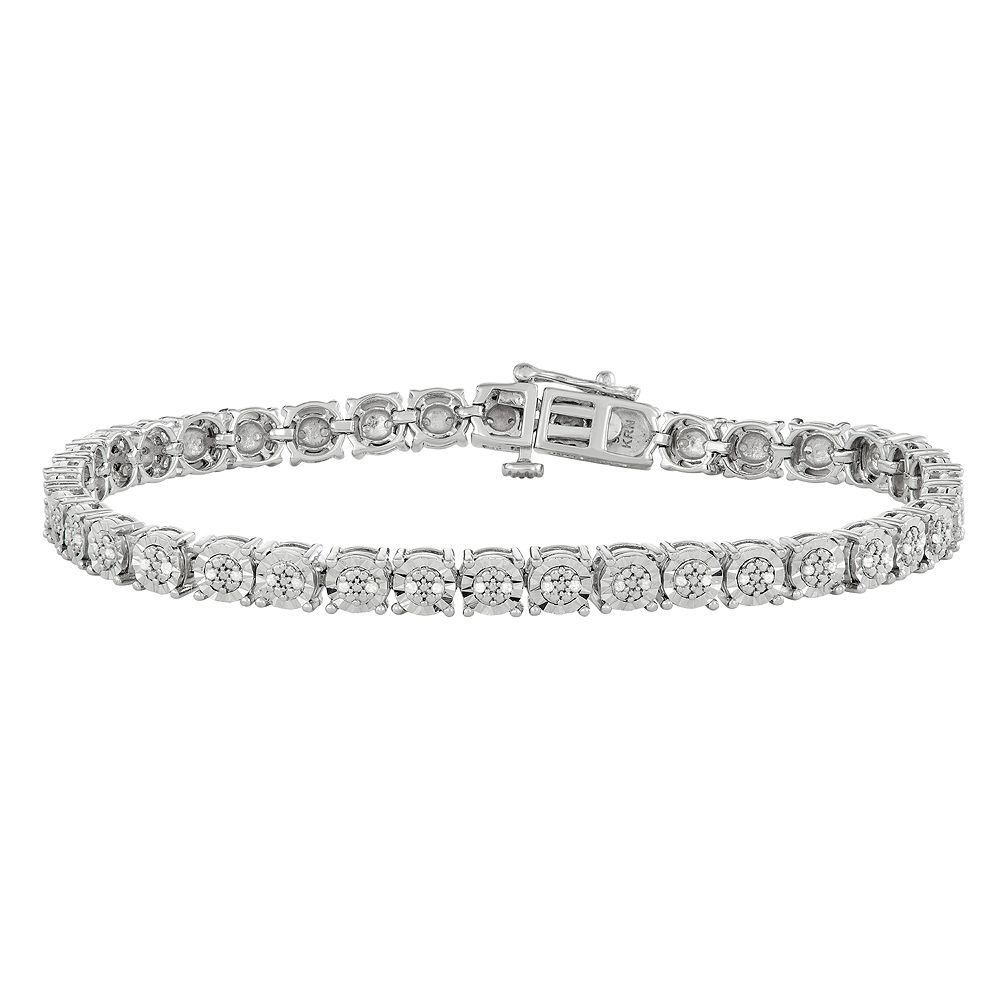 bracelet stacking bangle bangles silver diamond bracelets pin sterling